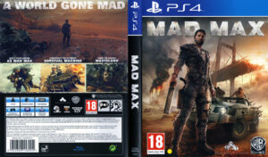 Mad Max ps4 dvd cover
