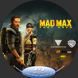 Mad Max- Fury Road Custom BD Label