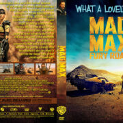 Mad Max: Fury Road (2015) R0 Blu-Ray DVD Cover & Label