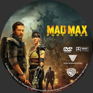 Mad Max- Fury Road custom label