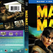 Mad Max: Fury Road (2015) R1 Blu-Ray DVD Cover