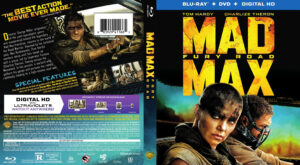 mad max fury road blu-ray dvd cover
