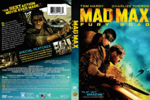 mad max fury road dvd cover