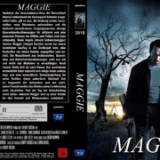 Maggie (2015) Custom Blu-Ray DVD Cover (german)