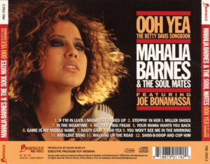 Mahalia Barnes & The Soul Mates - Ooh Yea! The Betty Davis Songbook - Back