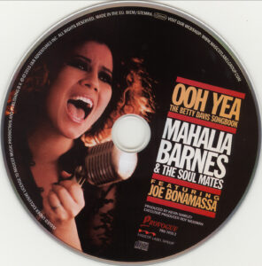 Mahalia Barnes & The Soul Mates - Ooh Yea! The Betty Davis Songbook - CD