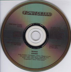 Mango - Adesso - CD