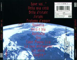 Mango - Dove Vai... (Live) - Back