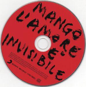 Mango - L'amore è invisibile - CD
