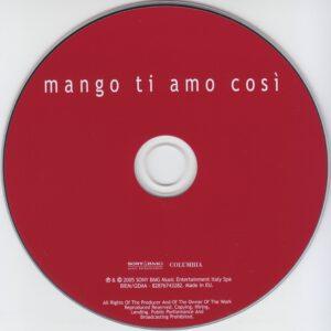 Mango - Ti Amo Così - CD