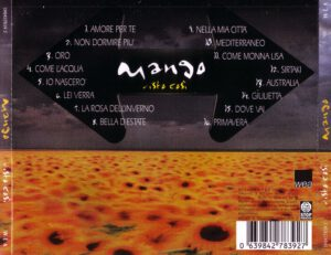 Mango - Visto Così - Back