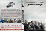 Furious 7 (2015) R0 Custom DVD Cover