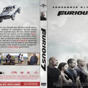 Furious 7 (2015) R0 Custom DVD Cover