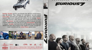 furious 7 dvd cover