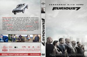 furious 7 dvd cover