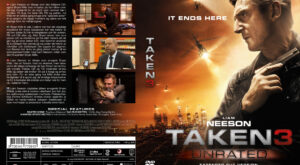 Taken 3 - nordic retail DVD