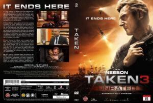 Taken 3 - nordic retail DVD