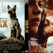 Max (2015) R0 Custom DVD Cover
