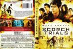 Maze Runner: The Scorch Trials (2015) R1 DVD Cover