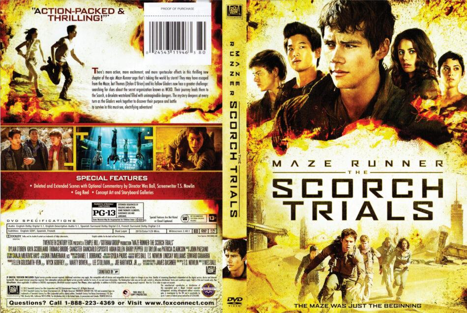 maze runner 2 dvd