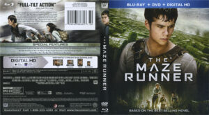 the maze runner blu-ray dvd cover