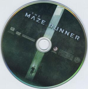 the maze runner dvd label
