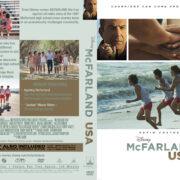 McFarland, USA (2015) R0 Custom DVD Cover & Label