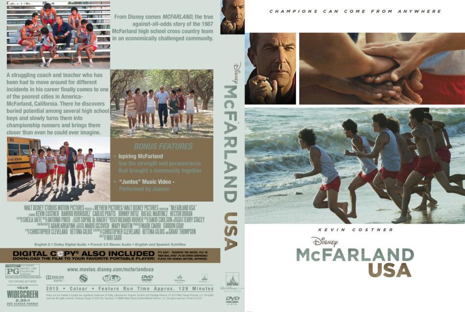 McFarland USA Custom Cover