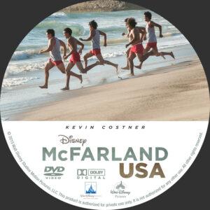 McFarland USA Custom Label