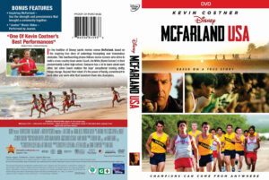 McFarland, USA DVD COVER