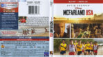 McFarland USA (2015) Blu-Ray DVD Cover & Label