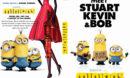 Minions (2015) R0 Custom DVD Cover