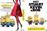 Minions (2015) R0 Custom DVD Cover
