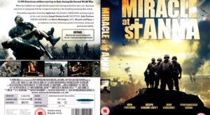 Miracle At St Anna (2008) R2 Cover
