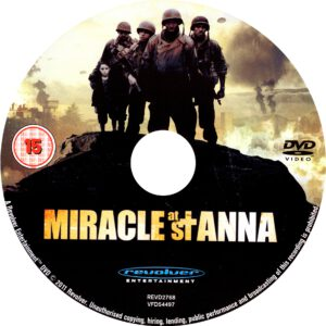 Miracle At St Anna (2008) R2 Label