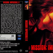 Mission Impossible 2 (2000) Blu-Ray DVD Cover (german)
