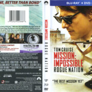 Mission Impossible: Rogue Nation (2015) R1 Blu-Ray