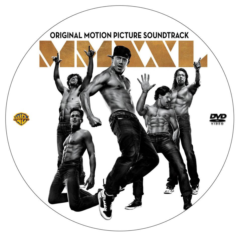 magic mike xxl dvd label