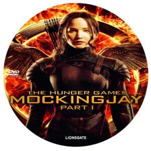 Mockingjay part 1 dvd label