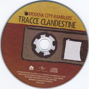 Modena City Ramblers - Tracce Clandestine - CD