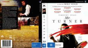 mr turner blu-ray dvd cover