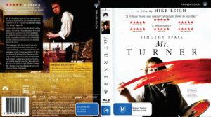 mr turner blu-ray dvd cover