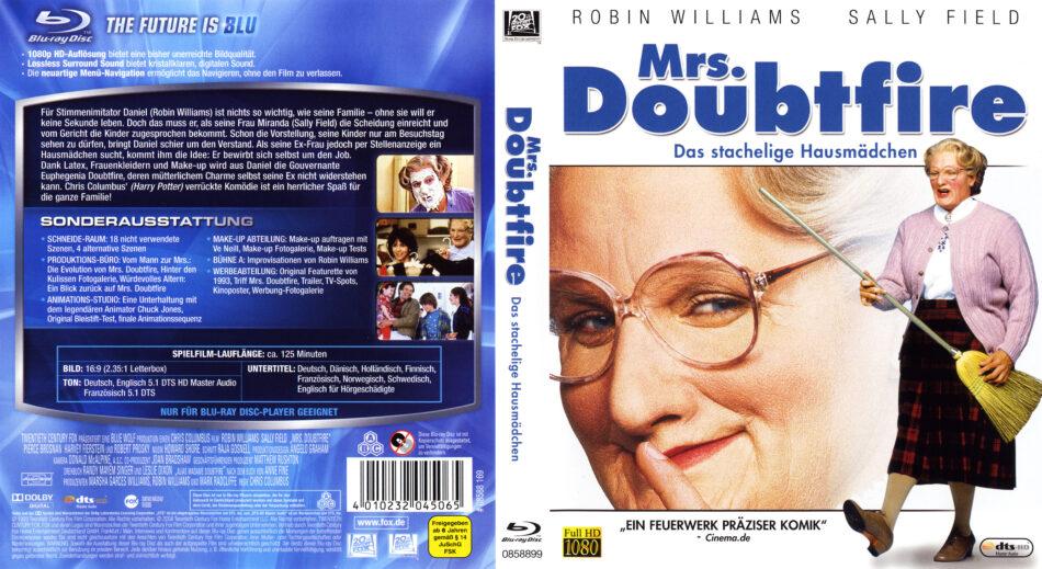 Mrs Doubtfire Blu Ray Dvd Cover 1993 German