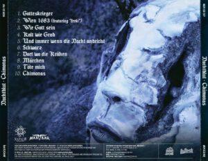 Nachtblut - Chimonas (Russia) - Back