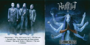 Nachtblut - Chimonas (Russia) - Booklet