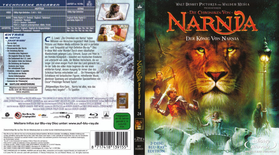 Die Chroniken Von Narnia: Der König Von Narnia Besetzung
