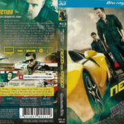 Need for Speed 3D Blu-Ray German DVD Cover (2014)