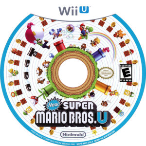 New Super Mario Bros. U - Cd