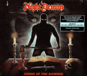 Night Demon - Curse Of The Damned - 1Front