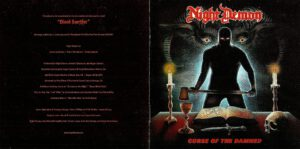 Night Demon - Curse Of The Damned - Booklet